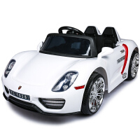 福儿宝儿童电动车四轮双驱摇摆遥控汽车可坐人宝宝小孩玩具车