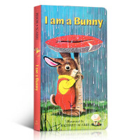 【全店300减110】英文原版 I am a bunny 我是一只小兔子 Richard Scarry斯凯瑞0-3-6岁