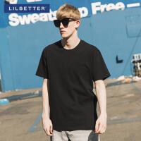 2.5折价:29;Lilbetter2019夏季新款个性时尚打底衫男士短袖T恤