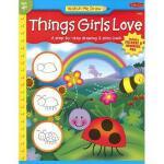 【预订】Things Girls Love [With Drawing PadWith Stickers]