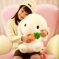 毛绒玩具兔子布娃娃小白兔抱枕公仔大玩偶女孩睡觉抱萌女生