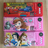 包邮小学生笔袋女童迪士尼公主苏菲亚儿童文具盒韩国笔盒大容量铅笔袋