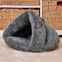 三角猫窝宠物窝垫子冬季保暖宠物睡袋蒙古包狗窝