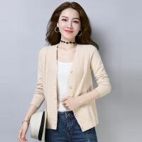 秋装羊毛针织开衫女短款春秋季宽松大码外搭披肩羊绒衫毛衣小外套