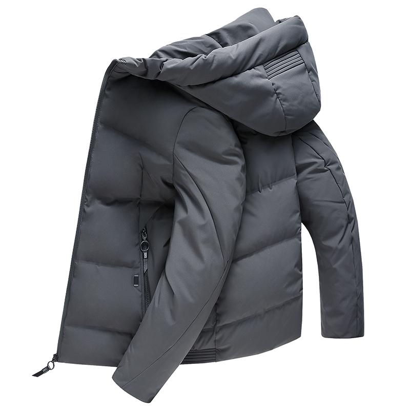【限时抢购 到手价:369】yaloo/雅鹿羽绒服男 2017冬季新款都市休闲修身立领保暖潮男外套