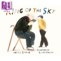 【中商原版】Laura Carlin:国王的天空 King of the sky 亲子绘本 移民和家庭 故事书 独立阅