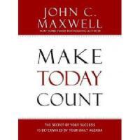 【预订】Make Today Count: The Secret of Your Success Is