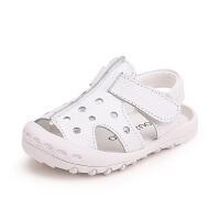 宝宝凉鞋男婴儿学步鞋幼儿夏季包头透气小童鞋子