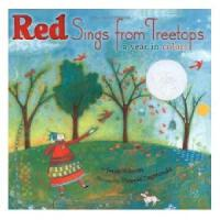 Red Sings from Treetops: A Year in Colors 英文原版儿童书 红色树梢在歌唱 2