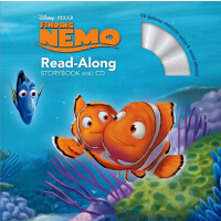 英文原版儿童书 Finding Nemo Read-Along Storybook [With CD (Audio)]