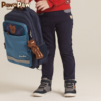 【秒杀价:75】Pawinpaw宝英宝卡通小熊童装冬季款男童长裤