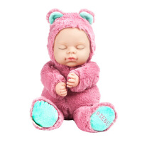20180528065948515宝宝安抚玩偶萌熊儿童仿真睡眠娃娃毛绒玩具公仔女