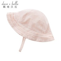davebella戴维贝拉2018夏季新款女童遮阳帽子 宝宝渔夫帽DB7538-H