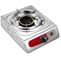 不锈钢台式单灶燃气灶家用节能灶煤气炉天然气单个炉具