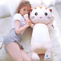 软体猫咪抱枕公仔可插手可爱布娃娃猫玩偶睡觉抱毛绒玩具
