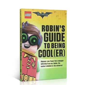 英文原版 大电影全彩漫画 Lego Batman Movie: Robin'S Guide To Being Cool 乐高蝙蝠侠 会讲故事的英语书 4-8岁 精彩插图
