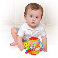 汇乐玩具 929 益智玩具 摇铃手抓球 健儿球 儿童婴幼儿宝宝安抚玩具0-1岁生日礼物