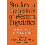 【预订】Studies in the History of Western Linguistics