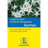 【预订】Langenscheidt Universal-Phrasebook German