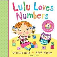 Lulu Loves Numbers 露露爱数字【英文原版童书 露露大明星系列、纸板翻翻书、趣味书 儿童启蒙】