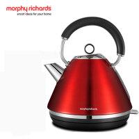 MORPHY RICHARDS/摩飞电器 MR7076 摩飞电热水壶1.5L家用304不锈钢电热烧水壶 英国品牌 30