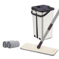 琪捷 家用免手洗拖把拖布桶平板拖把刮刮乐拖把桶QJ-A02