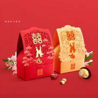 喜糖盒结婚婚礼用品中国风糖果礼盒创意小号中式纸盒个性镂空糖盒