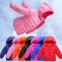 【10万+妈妈的选择】0-14岁儿童轻薄款羽绒棉服女童棉衣2018冬季新款棉衣中大童保暖棉袄
