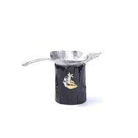 茶具锡茶漏茶滤手工创意树叶茶具过滤网茶漏功夫茶道零配件 茶漏