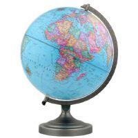 博目地球仪:30cm中英文政区地球仪(金属支架) 北京博目地图制品有限公司 测绘出版社 9787503040023
