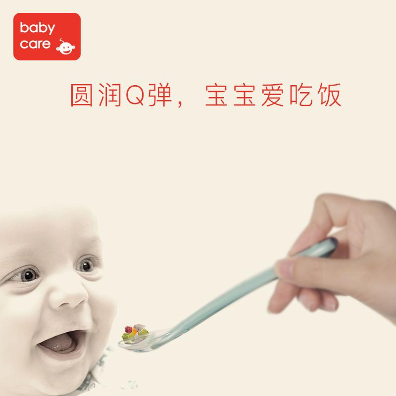 喂水软勺儿童辅食碗勺宝宝硅胶软勺 婴儿勺子餐具