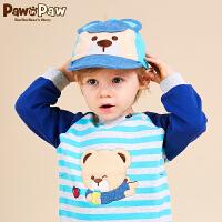 【1件3折 到手价:59】Pawinpaw宝英宝卡通小熊童装男女宝宝出游遮阳婴幼童鸭舌帽
