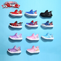 【秒杀价:69元】迪士尼Disney童鞋2018秋季新款儿童运动鞋毛毛虫童鞋男童运动鞋女童休闲鞋织布跑步鞋(5-10岁