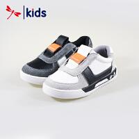 红蜻蜓童鞋男童中大童时尚拼接款运动鞋