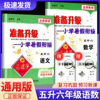 孟建平准备升级暑假衔接五升六语文数学人教版五年级暑假作业