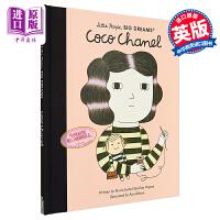 【中商原版】小人物大梦想系列 香奈儿 英文原版 Little People, Big Dreams Coco Chan