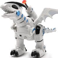 儿童恐龙玩具仿真动物模型电动机械龙会走路机器人男孩3-6岁