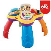 费雪 Fisher-Price )玩具 多功能小狗皮皮学习桌(双语)BJV34 皮皮学习桌