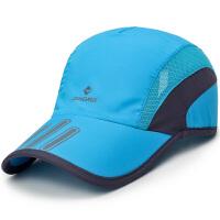 速干帽男士网帽棒球帽女士遮阳太阳帽户外透气鸭舌帽钓鱼帽子