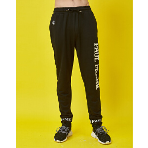 【限时秒杀到手价:89元】paul?frank/大嘴猴健身春季新款休闲裤舒适帅气风男式运动长裤