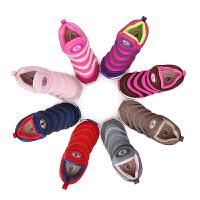 【3折价:134.4元】暇步士Hush Puppies童鞋18新款儿童运动鞋男女童毛毛虫莱卡布休闲鞋 (0-10岁可选