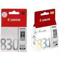 佳能(Canon)PG-830 黑色墨盒,CL-831 彩色墨盒 套装(适用佳能 iP1180/iP1880/iP19