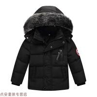 冬季儿童羽绒服男女童童装宝宝加厚短款毛领外套中小童韩版冬天外穿潮秋冬新款