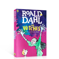 女巫 The Witche 罗尔德达尔 英文原版小说 roald dahl 全英文版儿童读物桥梁书 可搭查理和巧克力工