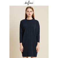 伊芙丽冬装新款韩版时尚女装连衣裙1188994691
