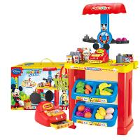过家家玩具超市收银机玩具套装儿童玩具男孩女孩儿童推车玩具收纳架