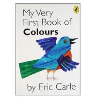 【现货】英文原版 Eric Carle: My Very First Book of Colours 我的颜色书 亲子互
