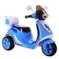儿童电动车三轮车摩托车宝宝可坐玩具车小孩电瓶车
