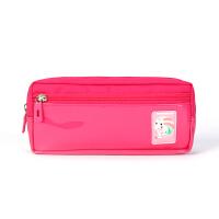 【2件5折】卡拉羊 笔袋袋多功能大容量卡通文具盒包男女小学生铅笔袋CX0445