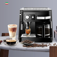 DeLonghi/德龙 BCO410半自动意式美式咖啡机15帕泵压奶泡家用商用无需滤纸